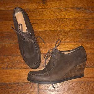 Lauren Ralph Lauren shoes wedge Denver brown 7.5